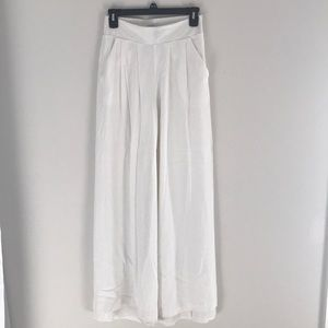 1 State White Wide Leg pants